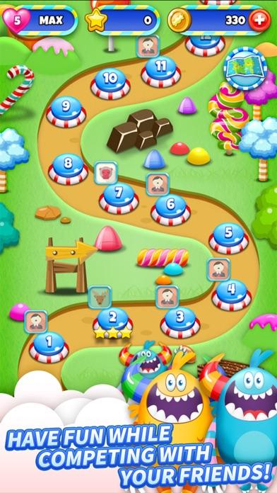 SugarLand - A match 3 puzzle screenshot 4