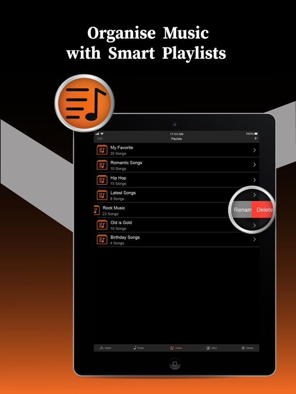 Offline Music Player Pro Screenshots