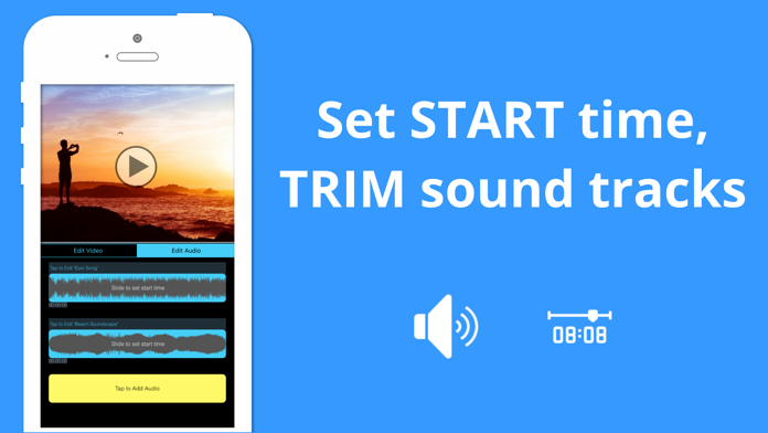 Add Music to Music Video Maker Screenshot