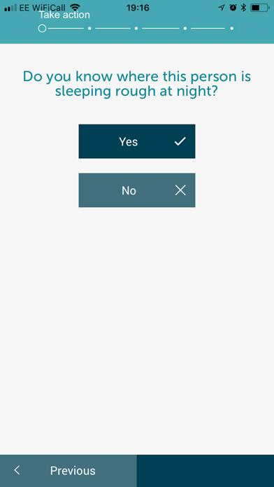 StreetLink screenshot three