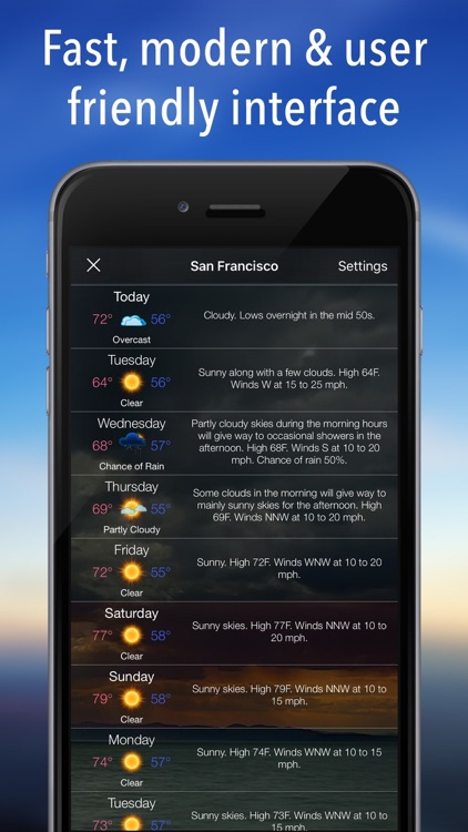 Living Weather HD + screenshot-3