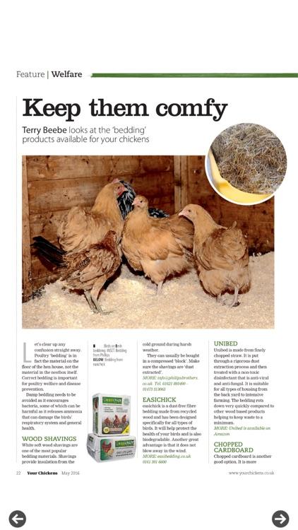 Your Chickens Magazine screenshot-4