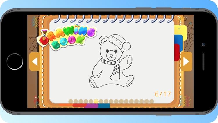 Teddy Bear Coloring Book