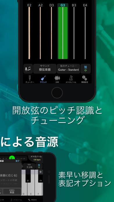 TonalEnergyチューナーとメトロノーム screenshot1