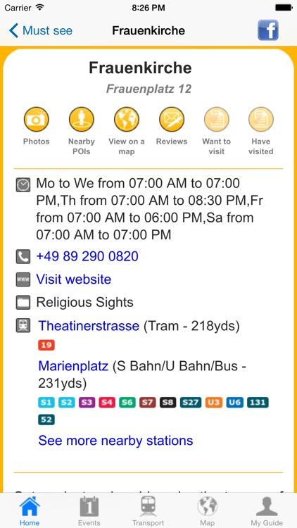 Munich Travel Guide Offline screenshot-4