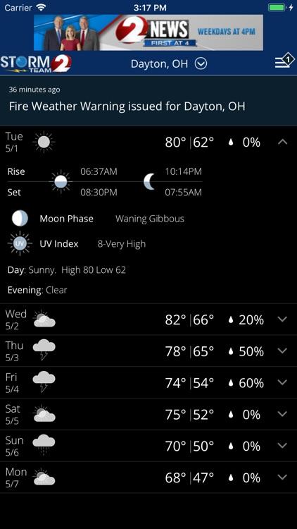 WDTN Weather screenshot-3
