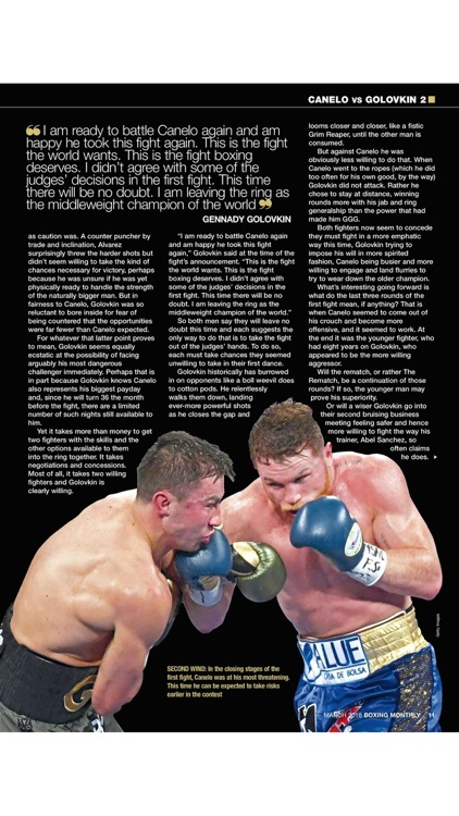 Boxing Monthly Magazine - The boxing magazine for fight fans around the world screenshot-3