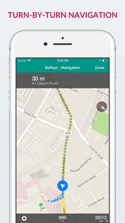 Belfast Offline Map & Guide screenshot-3