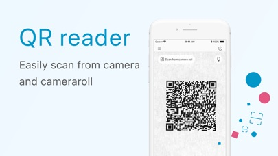 Clipbox QR code reader Screenshot on iOS