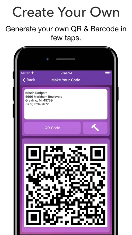 QR Code Reader - Barcode Maker screenshot-2