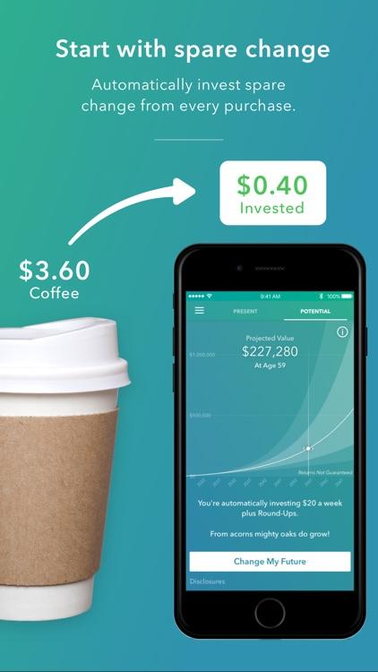 Acorns: Invest Spare Change