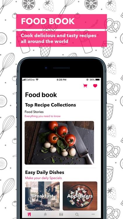 Food Book Recipes screenshot-0