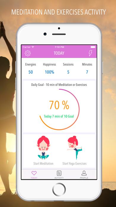 Yoga - Meditation and Workout screenshot one