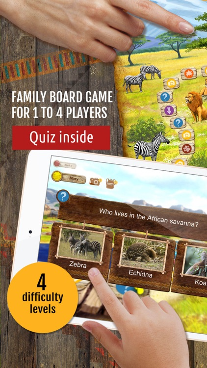 Safari Quest: kids board games
