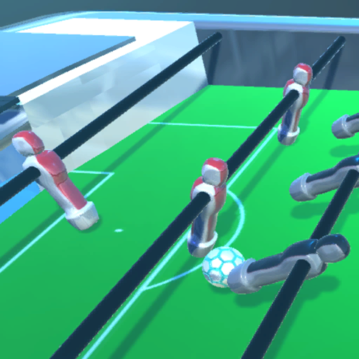 Table Soccer Foosball 3D