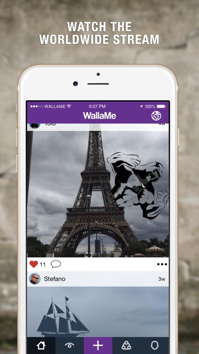 WallaMe - Hide Augmented Reality messages Screenshot