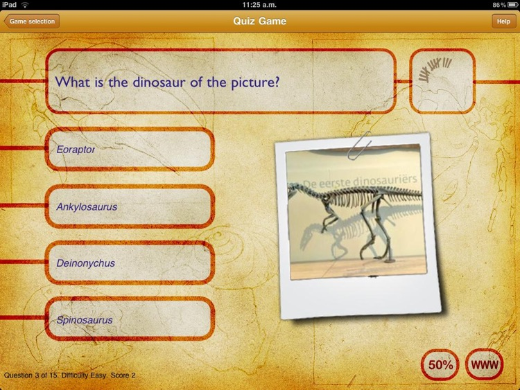 Dinosaur Book HD: iDinobook screenshot-2