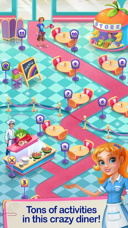 Crazy Diner Day screenshot-4