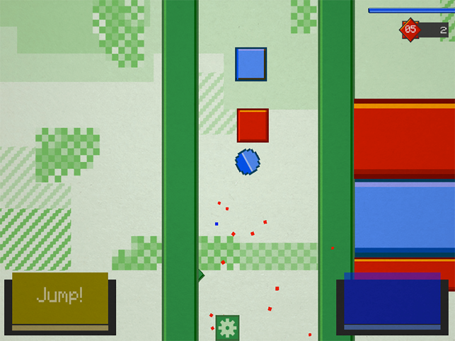 Blue red aaaargh, game for IOS