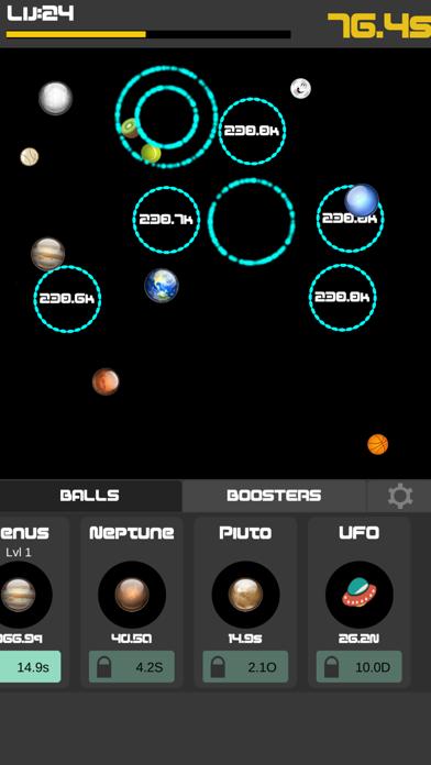 Idle Balls 2-Break Color Rings screenshot two