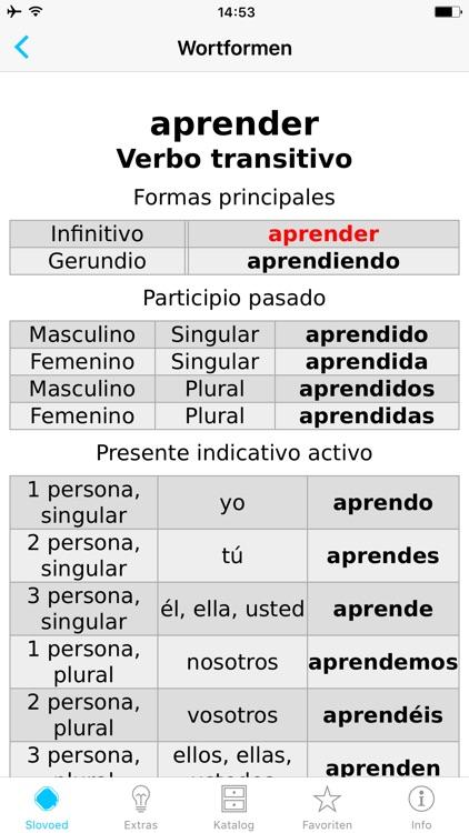German <> Spanish Dictionary screenshot-4
