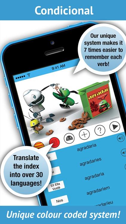 Catalan Verbs - LearnBots. screenshot-3