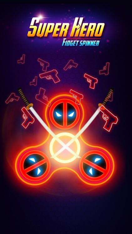 SuperHeroes Fidget Spinner screenshot-3