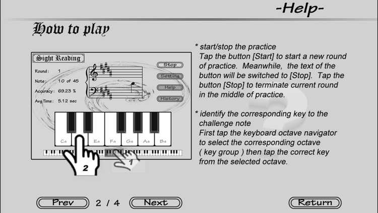 Piano Sight Reading screenshot-4