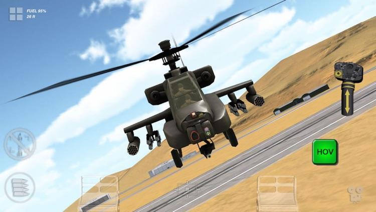 Apache 3D Sim Flight Simulator screenshot-3