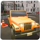 Multi Level Jeep Parking 3D icon