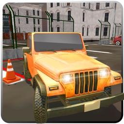 Multi Level Jeep Parking 3D