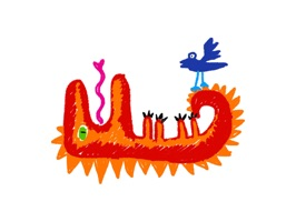Crayon Monsters stickers by Pinja