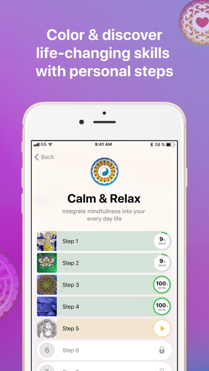 Goodme: mindfulness & relax screenshot-1