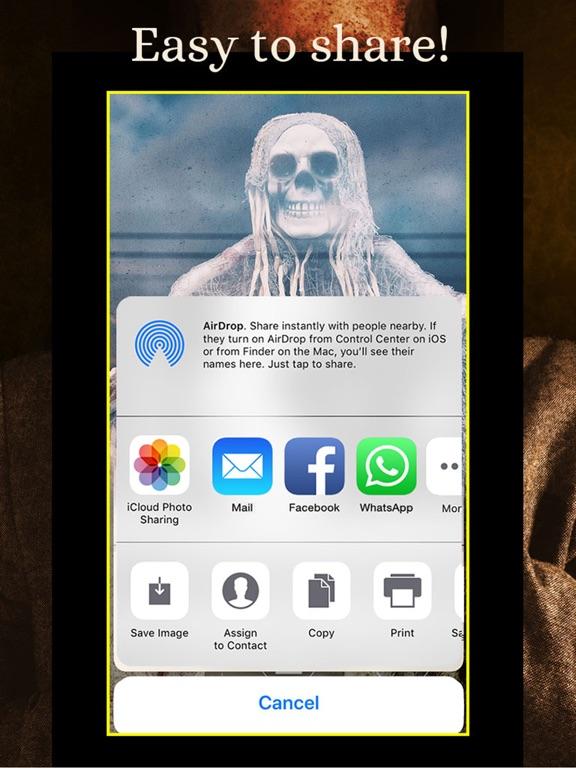 SKULLS Gothic Wallpaper Maker screenshot 11