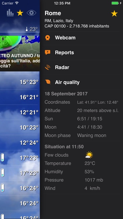 Meteo Plus - by iLMeteo.it screenshot-3