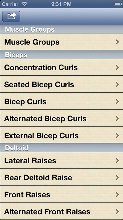 Dumbbell Exercises screenshot-4
