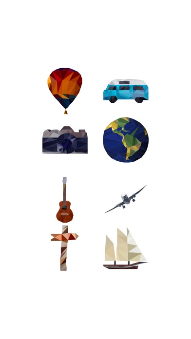 Travel Design StickerScreenshot von 1