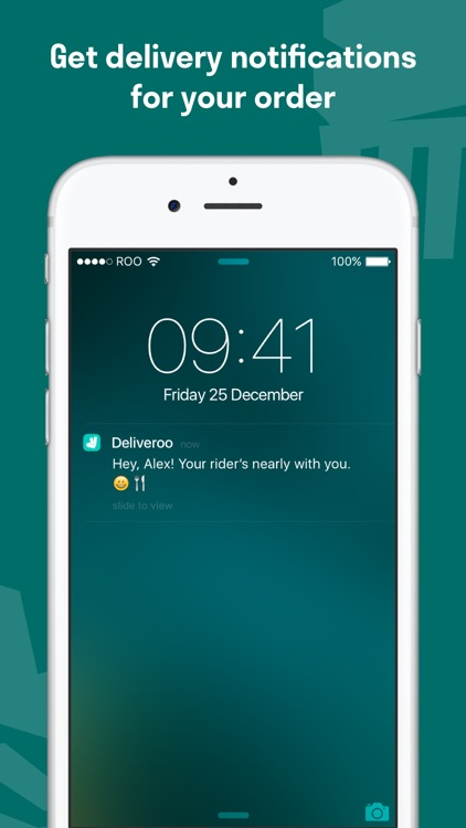 Deliveroo: Restaurant Delivery - Order Food Nearby screenshot-4