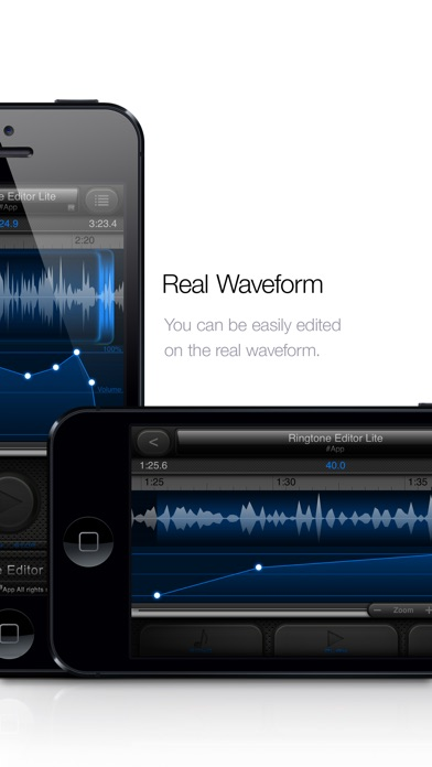 Screenshot #2 for Ringtone Editor Lite