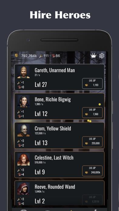 Idle Legends screenshot one