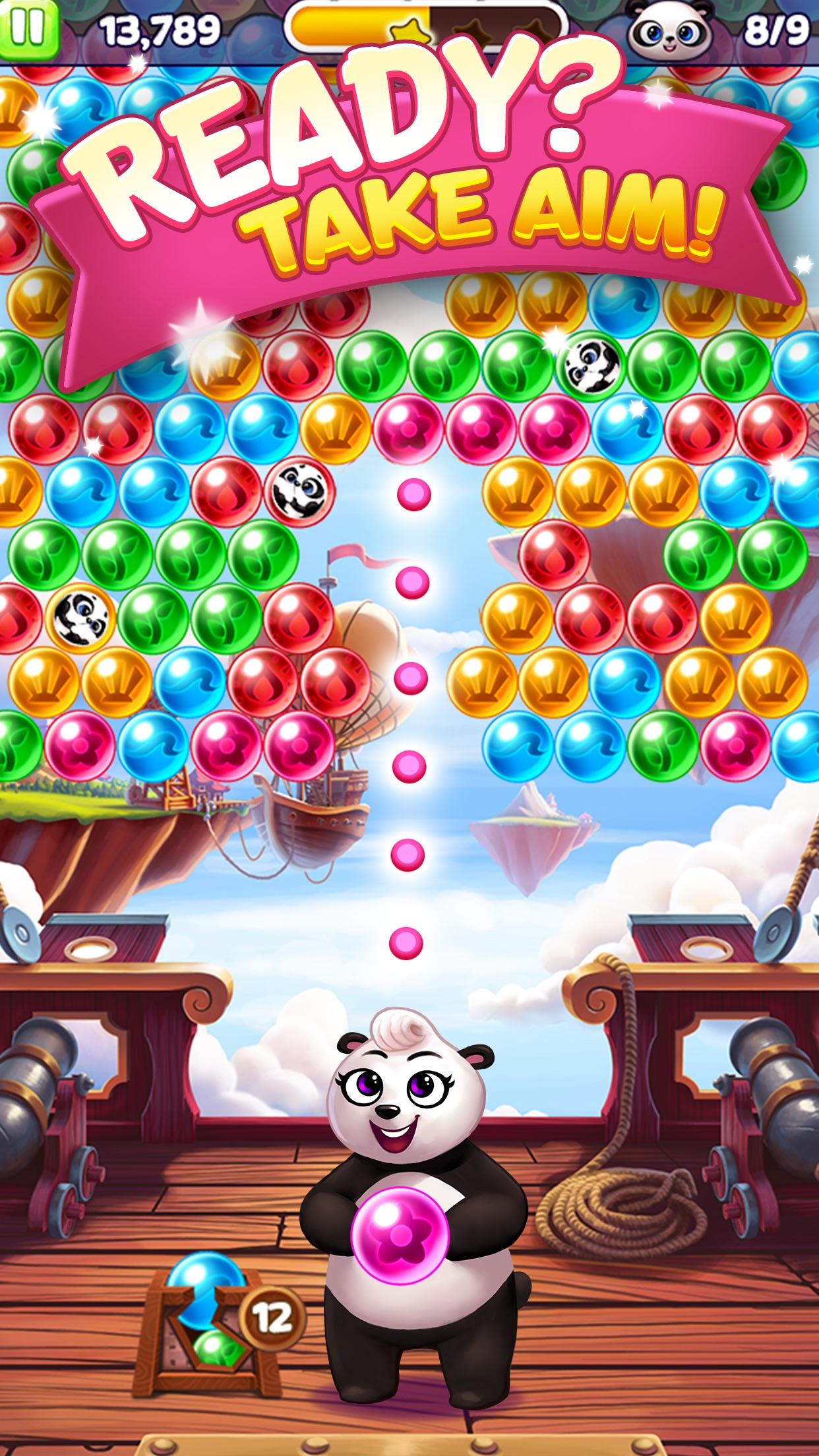 Panda Pop - Bubble Shooter Screenshot