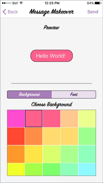 Message Makeover - Colorful Text Message Bubbles screenshot-1