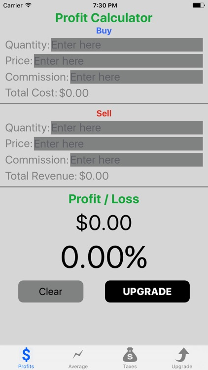 Stock Target Calculator