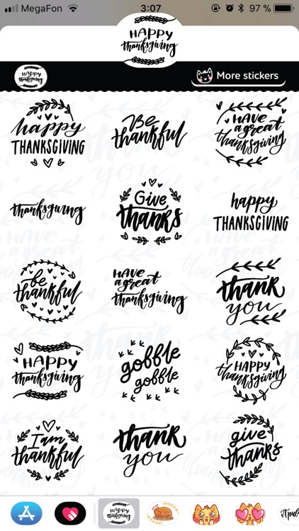 Thanksgiving Calligraphy! screenshot-4