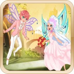 Dress Up Magical Fairy Bride