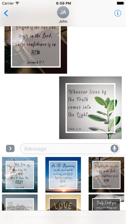 Christian Holy Bible Scriptures & Verses Stickers