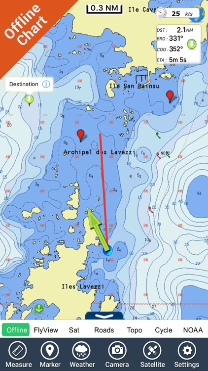 Boating New Caledonia HD chart screenshot-4