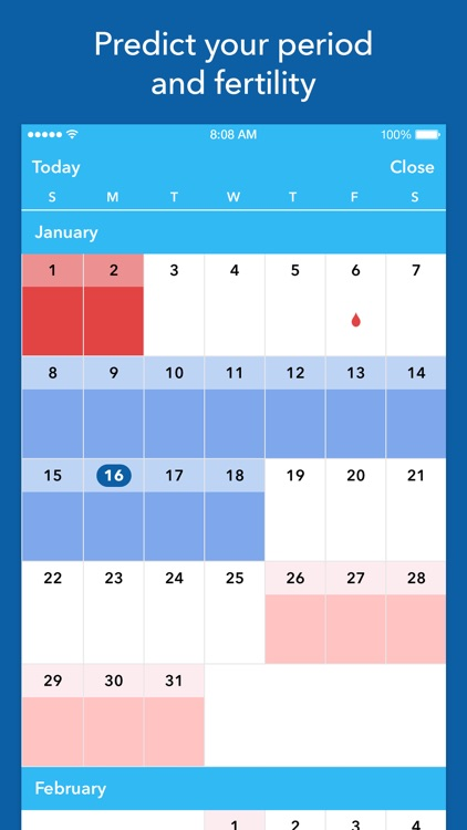 Spot On Period Tracker screenshot-1