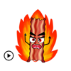 Animated Barbecue Sticker Pack