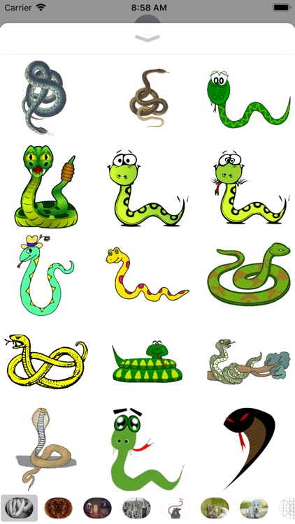 Snake Stickers - Sid Y